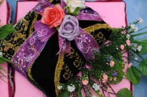 hantaran tema pink dan purple 11